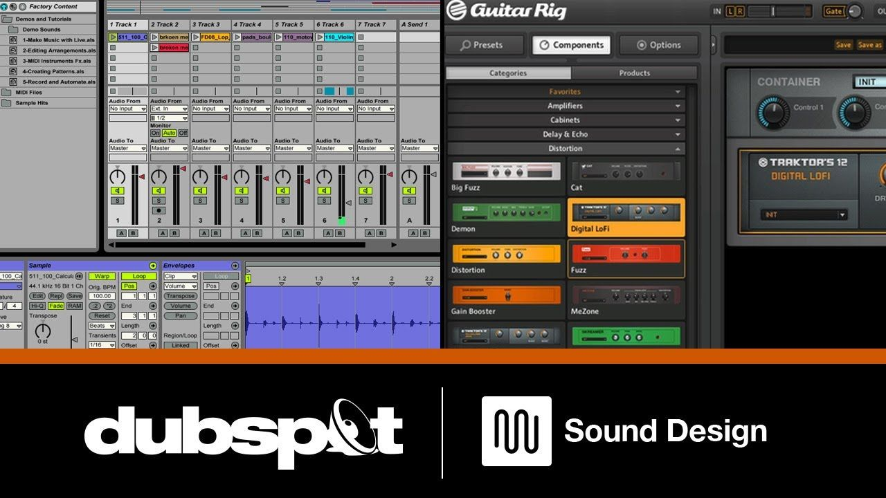 Live: Using Ableton Live's Effects Racks w/ Native Instruments