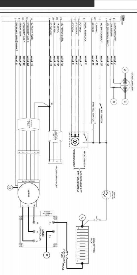 Evolution Golf Cart AC wire diagram in 2020   Ac wiring ...