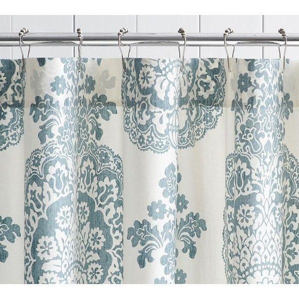 Pottery Barn Lucianna Medallion Shower Curtain 39 Liked