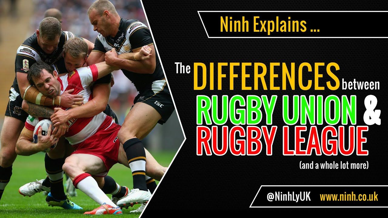 The Difference Between Rugby Union Rugby League Explained Rugby League Rugby Union Rugby