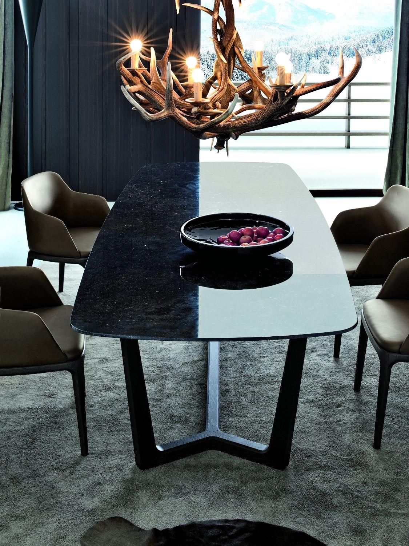 Buy concorde table poliform best price online dining - Tavole da pranzo ...