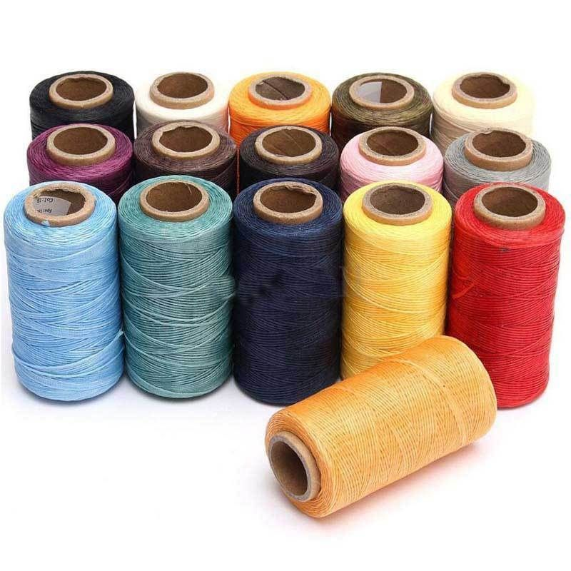 260m 1MM Leather Sewing Wax Thread Shoes Luggage Craft DIY Stitching Repair