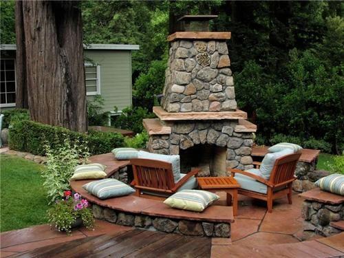 Outdoor Fireplace Seating Country Landscape Design Michelle Derviss Landscape Design Novato Ca Outdoor Fireplace Outdoor Fireplace Kits Backyard Fireplace