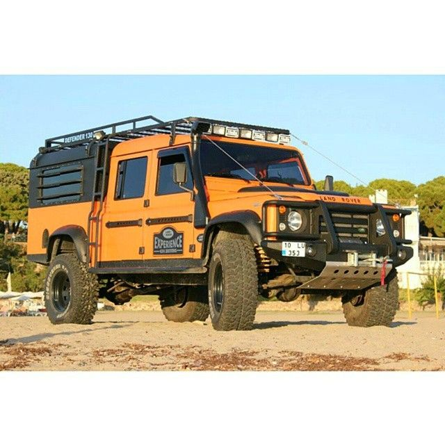 Defender with Discovery style front
