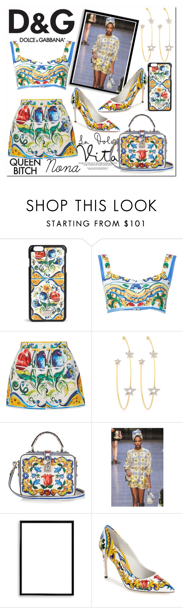 """""""D&G"""" by delunaray ❤ liked on Polyvore featuring Dolce&Gabbana, PERLOTA, Bomedo and polyvoreeditorial"""