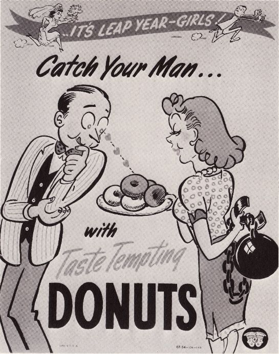 Catch your man with taste tempting donuts  Love the ball and
