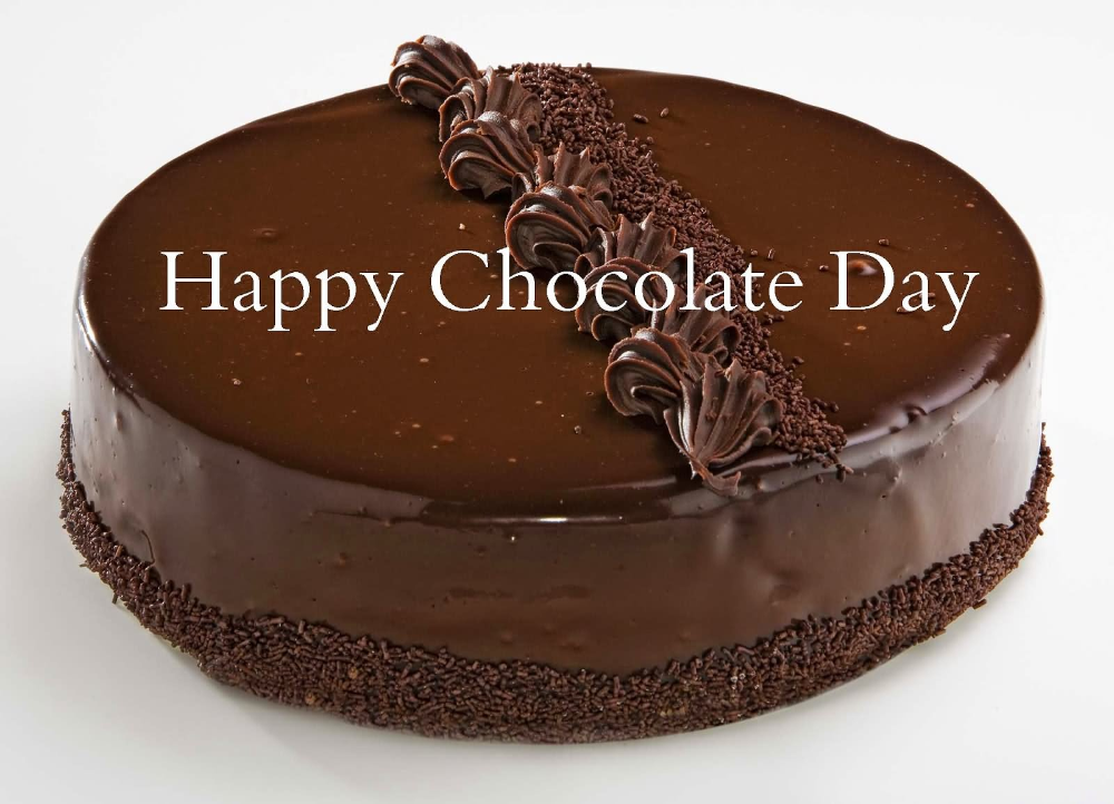 Chocolate Cake Day In 2020 Chocolate Day Happy Chocolate Day National Chocolate Cake Day