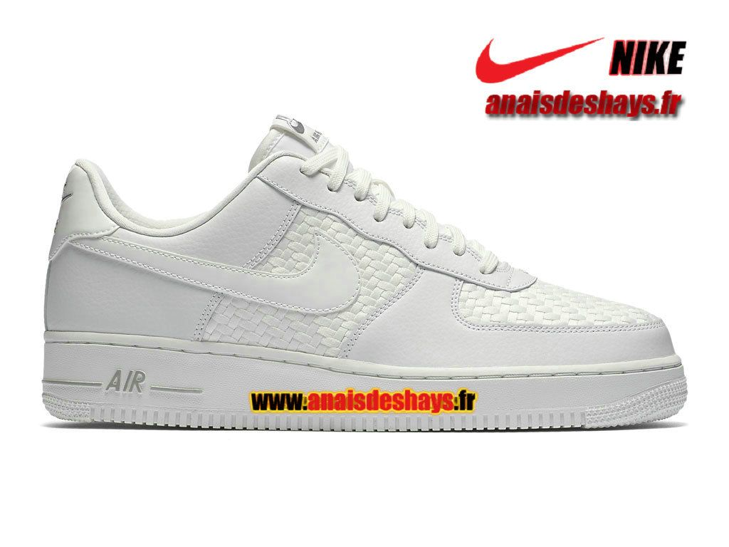 best website ab8bc aaf0f ... Nike Air Force 1 07 LV8 Low Homme Blanc sommet Blanc sommet Chrome Blanc  sommet 718152 Chaussure ...