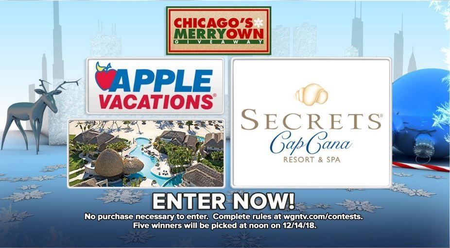 WGN TV Chicago's Merry Own Giveaway   Sweepstakes   Giveaway
