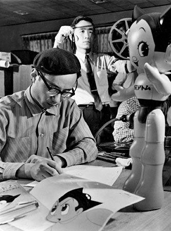 Osamu Tezuka, Drawing Atom