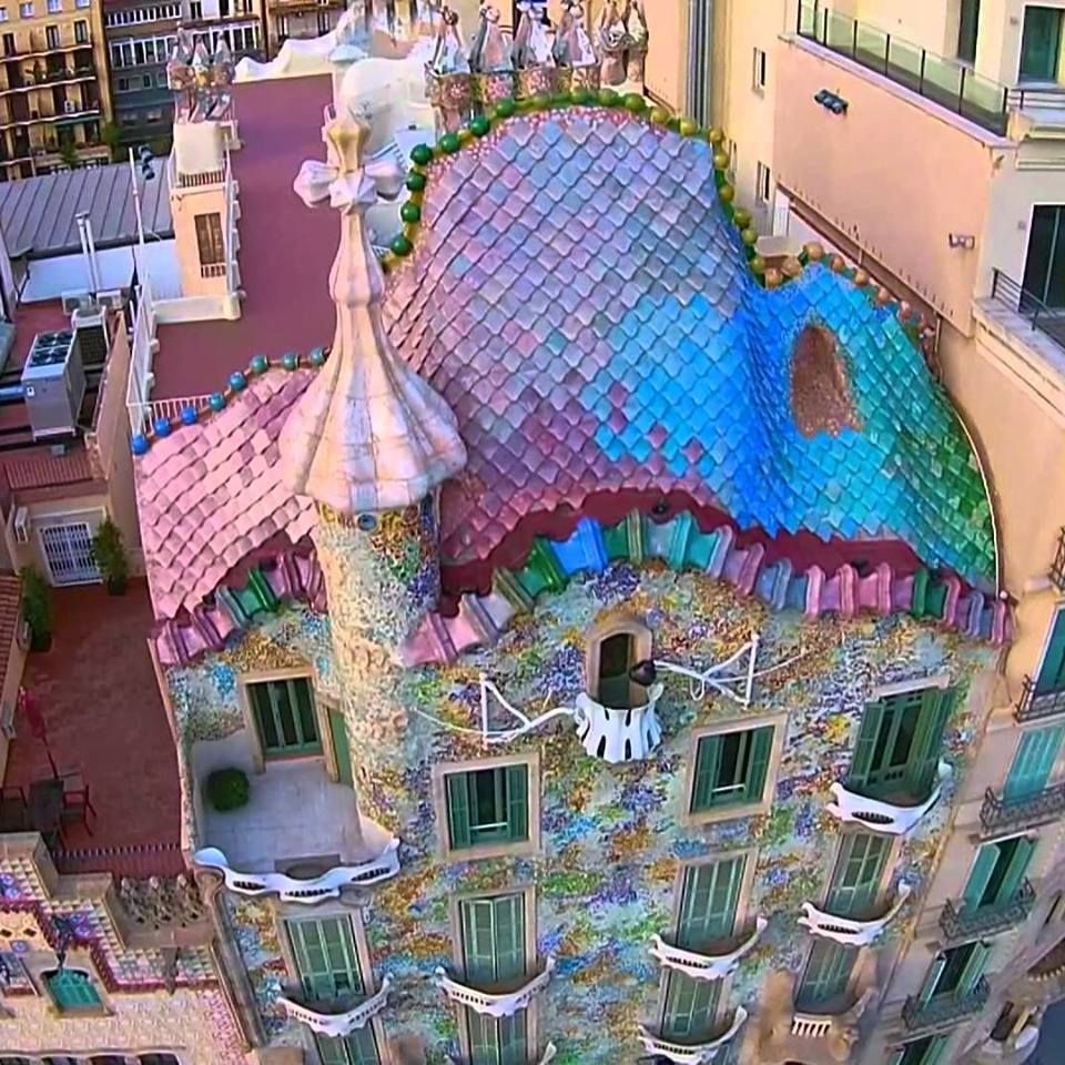 Barcelona Wohnen casa batllo antoni gaudi s masterpiece barcelona barcelona