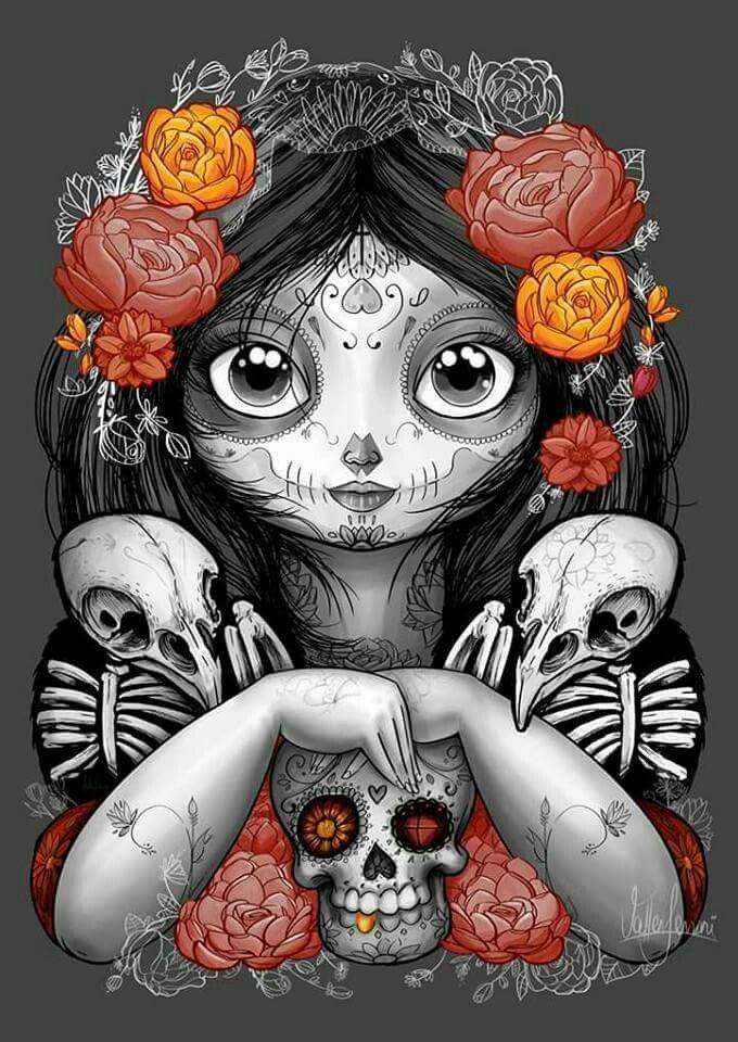 41+ Fete des morts tatouage inspirations