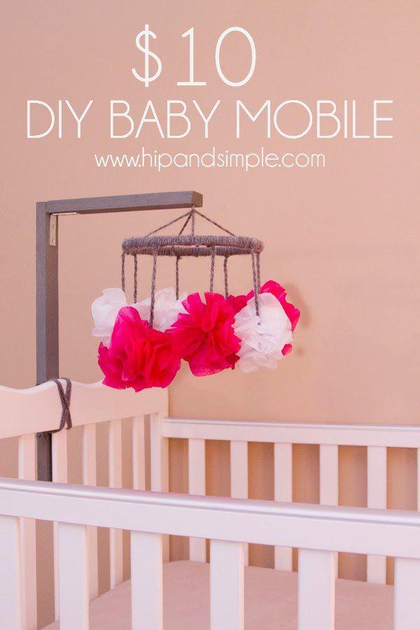 10 Diy Baby Mobile Diy Baby Mobile Girl Diy Baby Mobile Baby