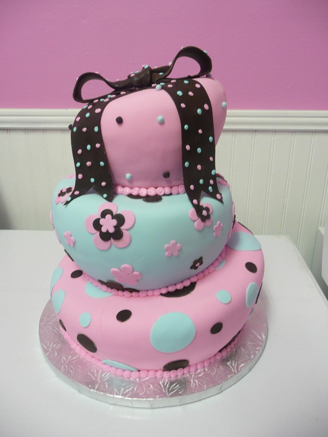 Beauty Baby Cake Baby Shower Cakes Cake
