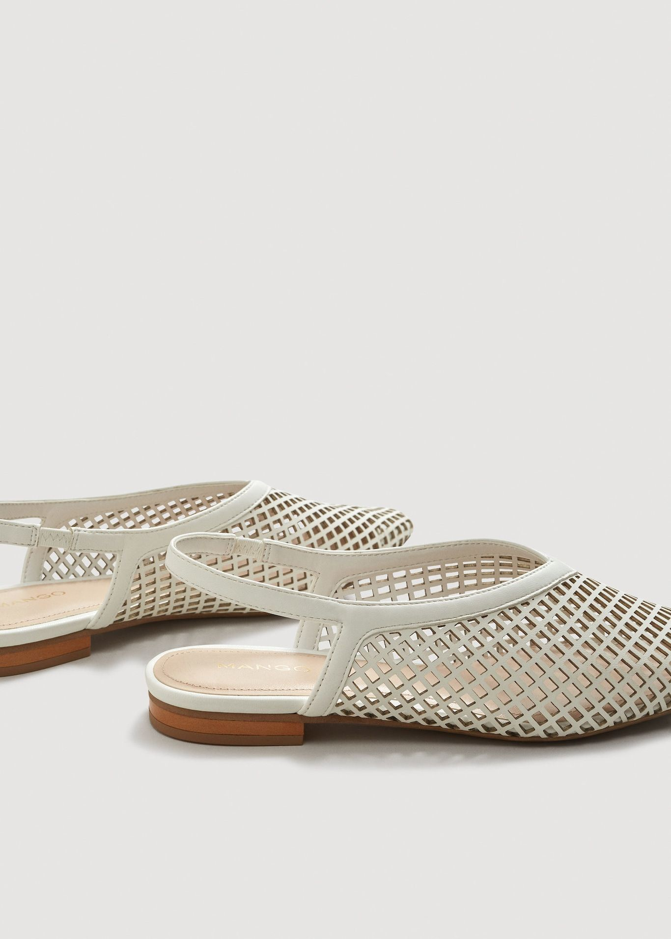66e4204b038fd Laser-cut slingback shoes - Women in 2019 | ○ s h o e s ...
