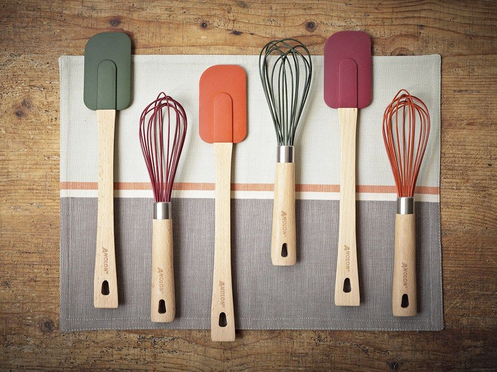 Kitchen Tools And Utensils Are Used For Preparing Baking Cooking