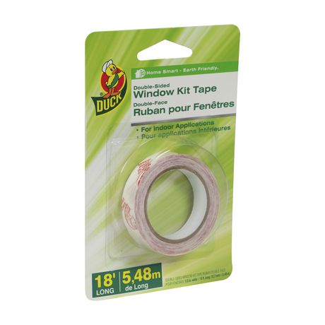 Duck Brand Double Sided Window Kit Clear Tape Tape How To Know