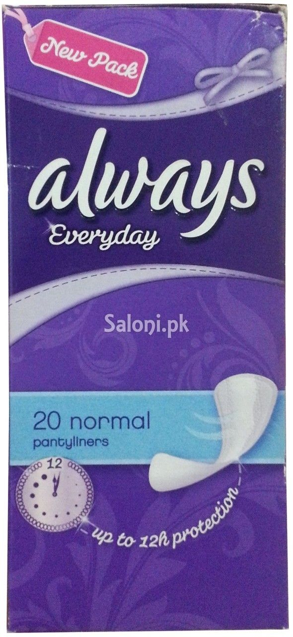 ALWAYS PADS EVERYDAY 20 NORMAL PANTILINERS Saloni™ Health