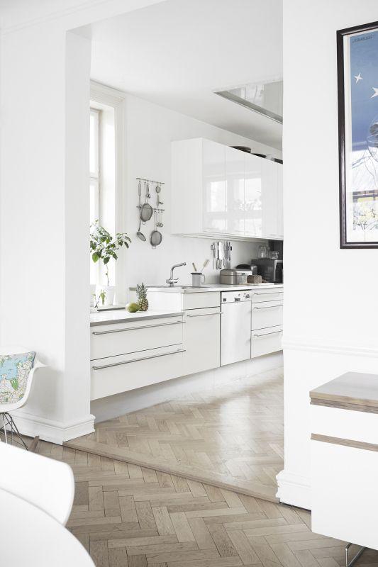 Разные уровни поверхностей в кухне kitchen Pinterest Basements - hm wohnung in wien design destilat
