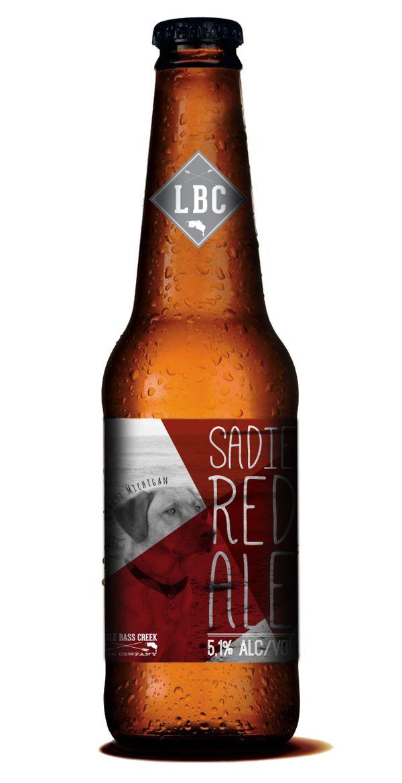 Beer Label - Sadie Red Ale by Devon Carlson, via Behance
