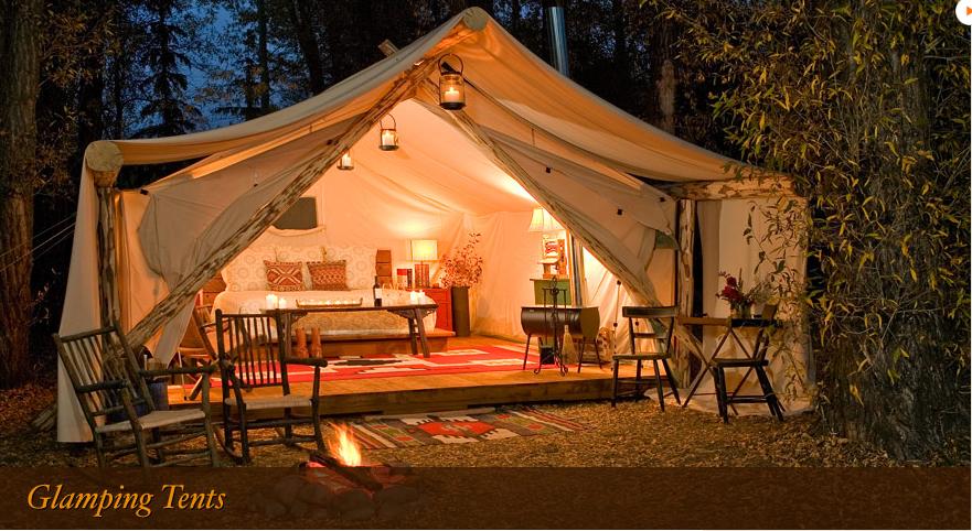 Glamping tents | Tent glamping, Tent, Glamour camping