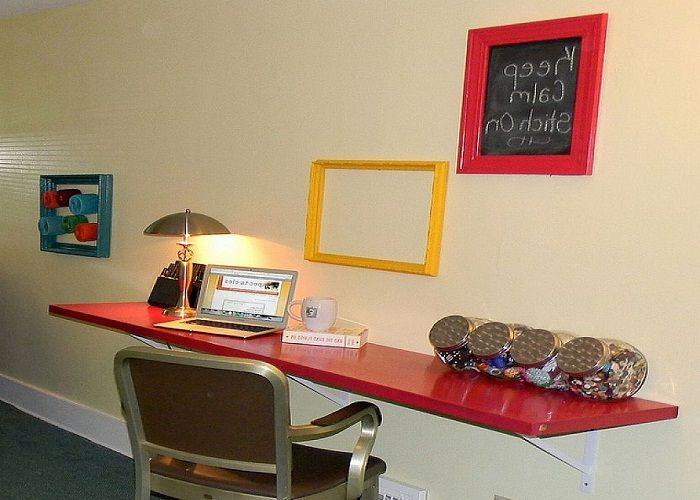Bauen Sie Ihre Eigenen Wand Montiert Schreibtisch Schreibtisch