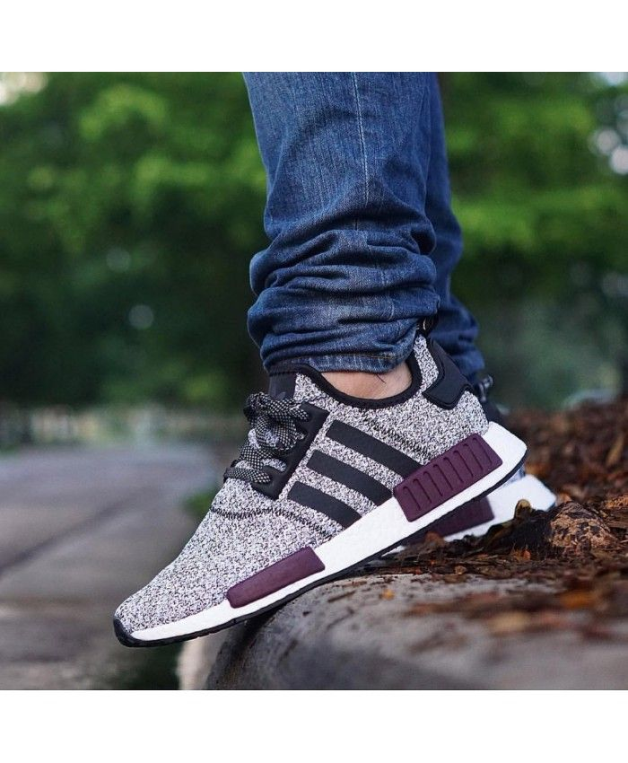 f77397c5f45c HOT 2017 Champs Adidas NMD Black Burgundy Purple - Buy adidas NMD r1 pink