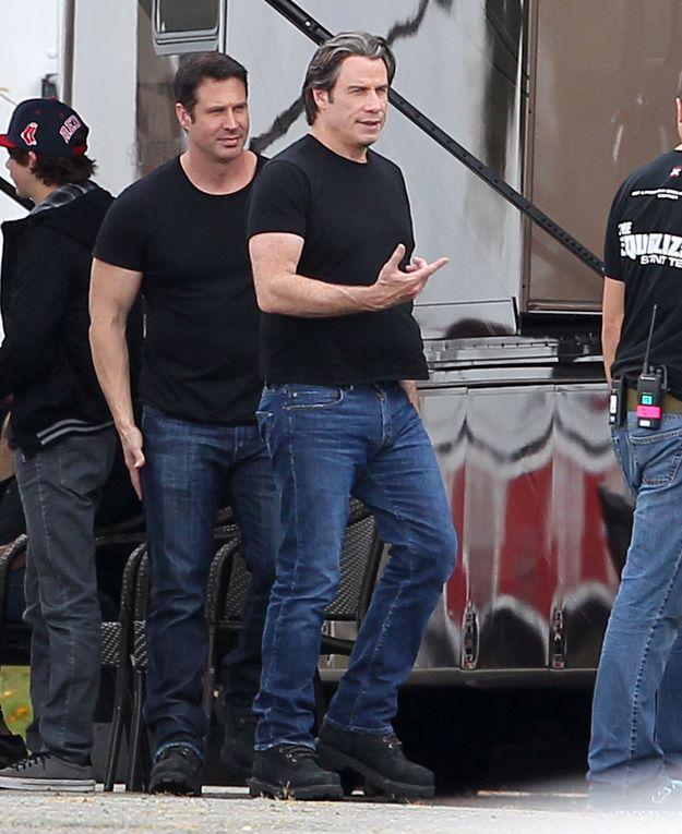 John Travolta | 36 actores pasando el tiempo con sus dobles | Cine ...