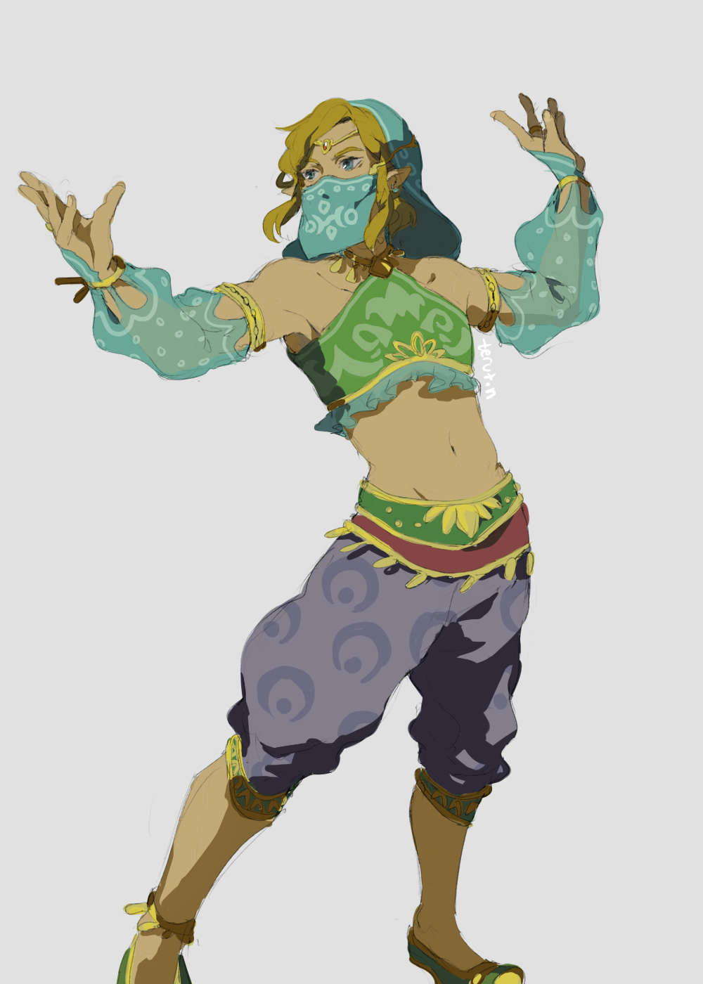 Gerudo Link Tumblr Anyone Who Doesn T Play The Game Has