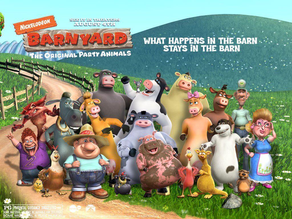 barnyard character poster by jamnetwork back at the barnyard in