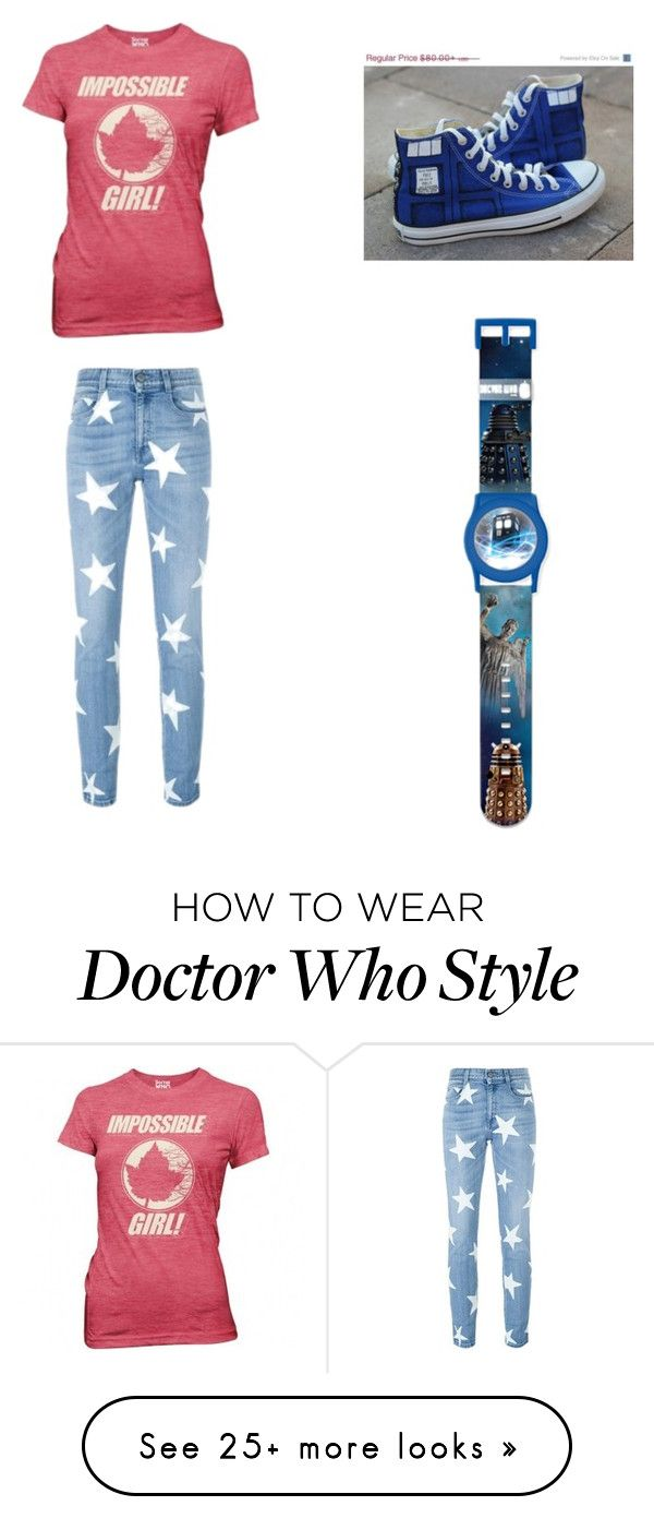 """Doctor who fangirl outfit"" by maya-03-b on Polyvore featuring STELLA McCARTNEY"