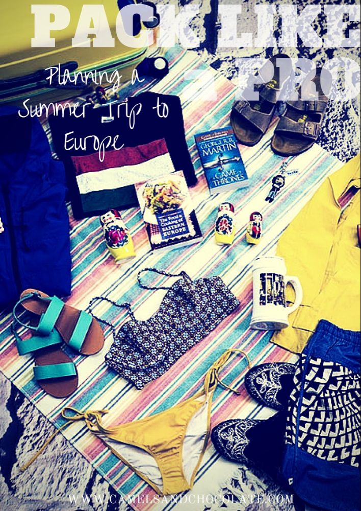 Contiki Bag Tag: Packing for a Europe Trip