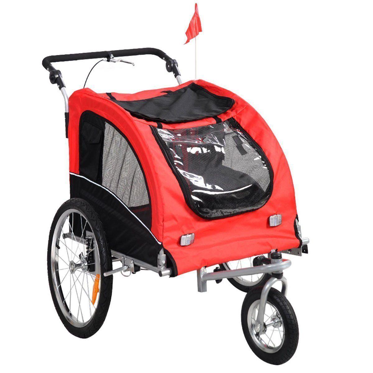 Giantex Pet Dog Bike Trailer Bicycle Trailer Stroller