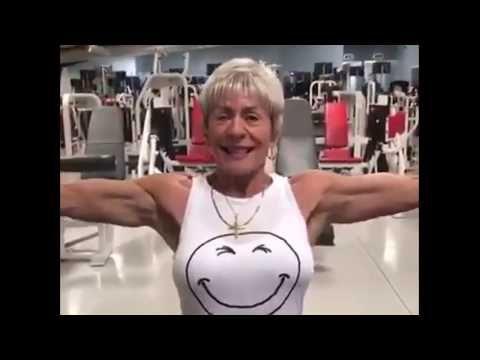 iris davis  67 year old fit lady  motivational  youtube