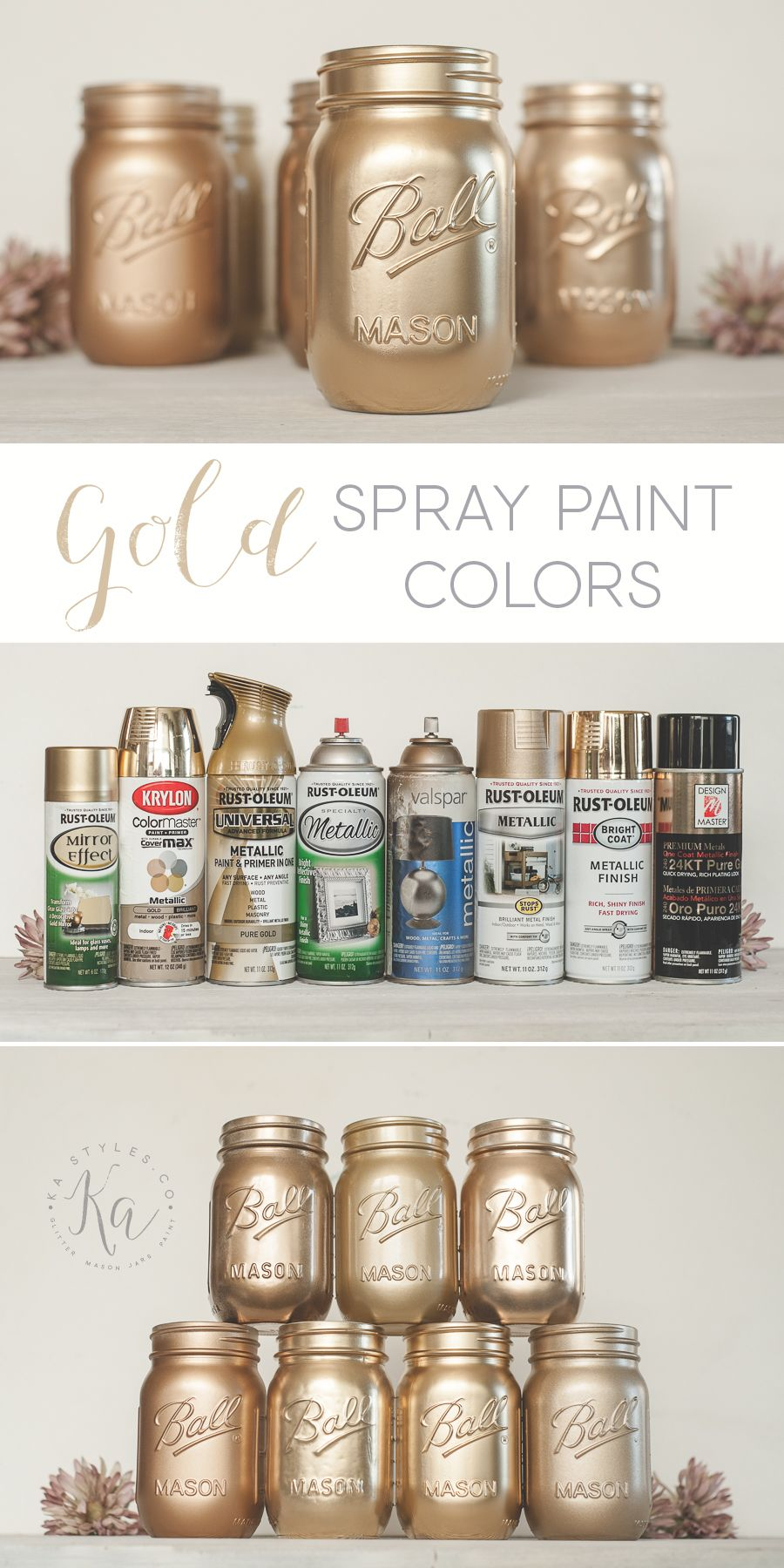 Best Gold Spray Paint Diy Gold Spray Paint Spray Painting Best