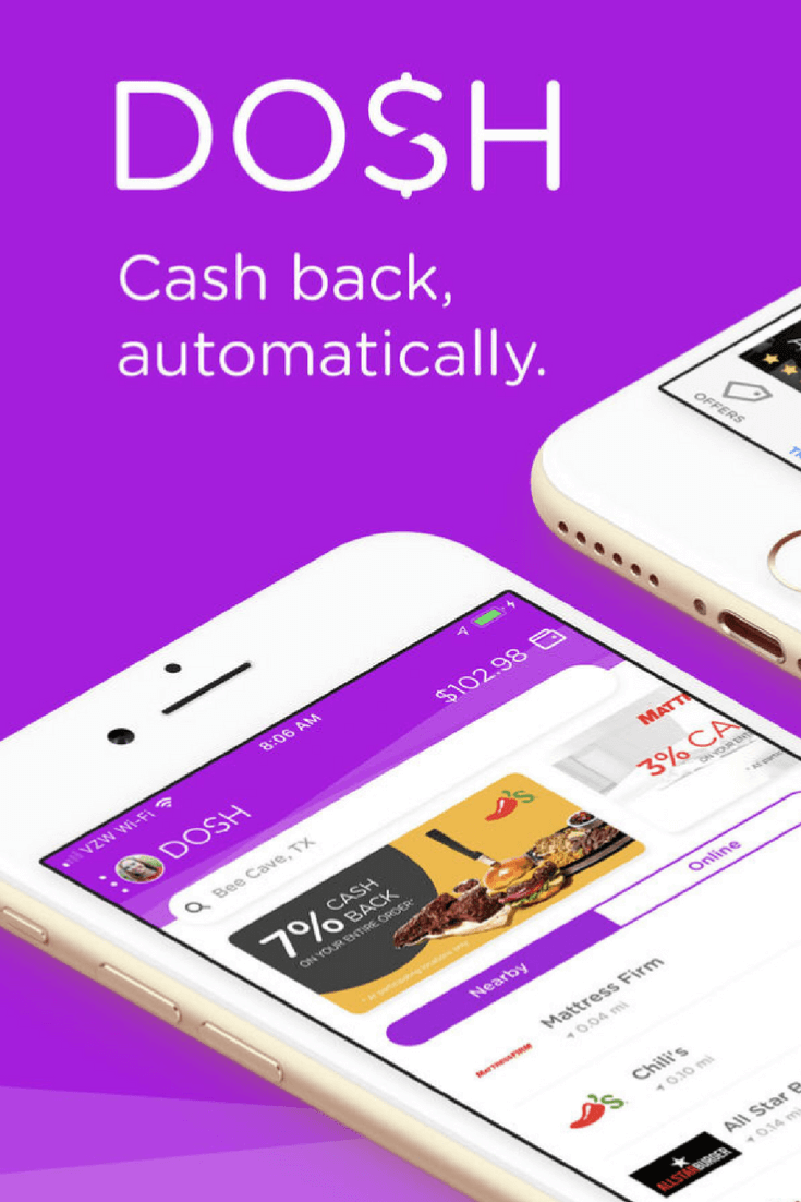Dosh App Review How to Get Cash Back for Your Everyday