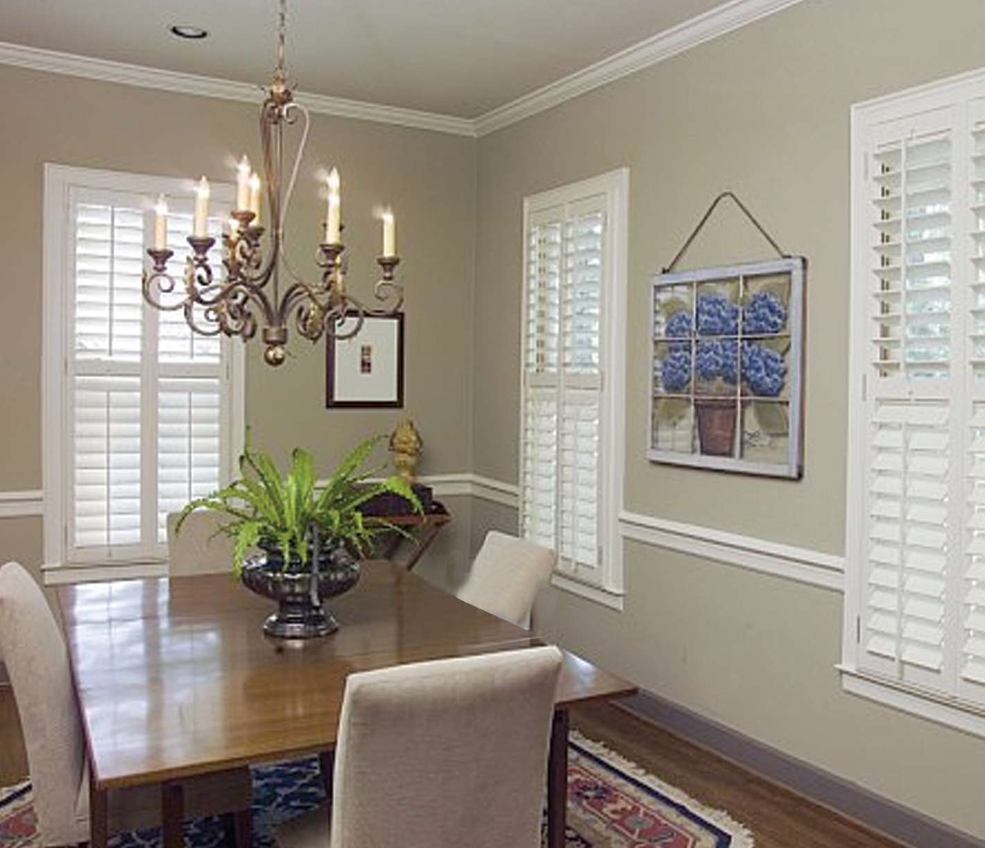 Southern Shutter Company | Interior Movable Shutters 1 7/8 ...
