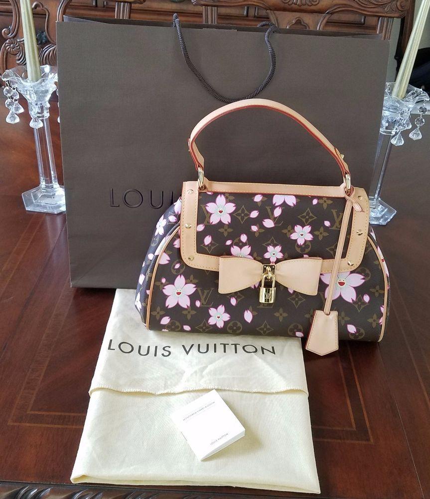 63e3cf1097de Louis Vuitton Cherry Blossom Retro Sac - An Absolute Beauty!  LouisVuitton   KellyBag