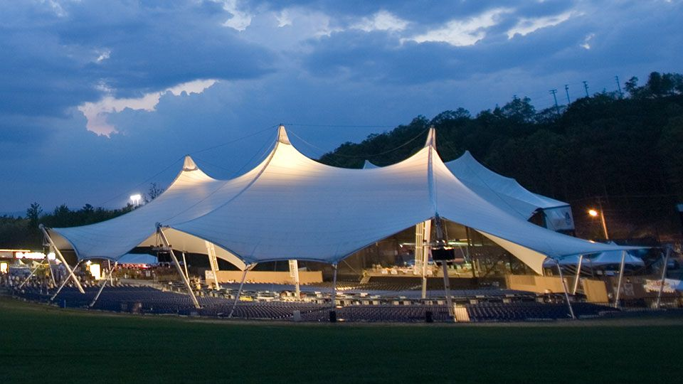Toyota Pavilion At Montage Mountain Scranton Pa Seating Chart View Pavilion Architecture Outdoor Concert Shade Sail