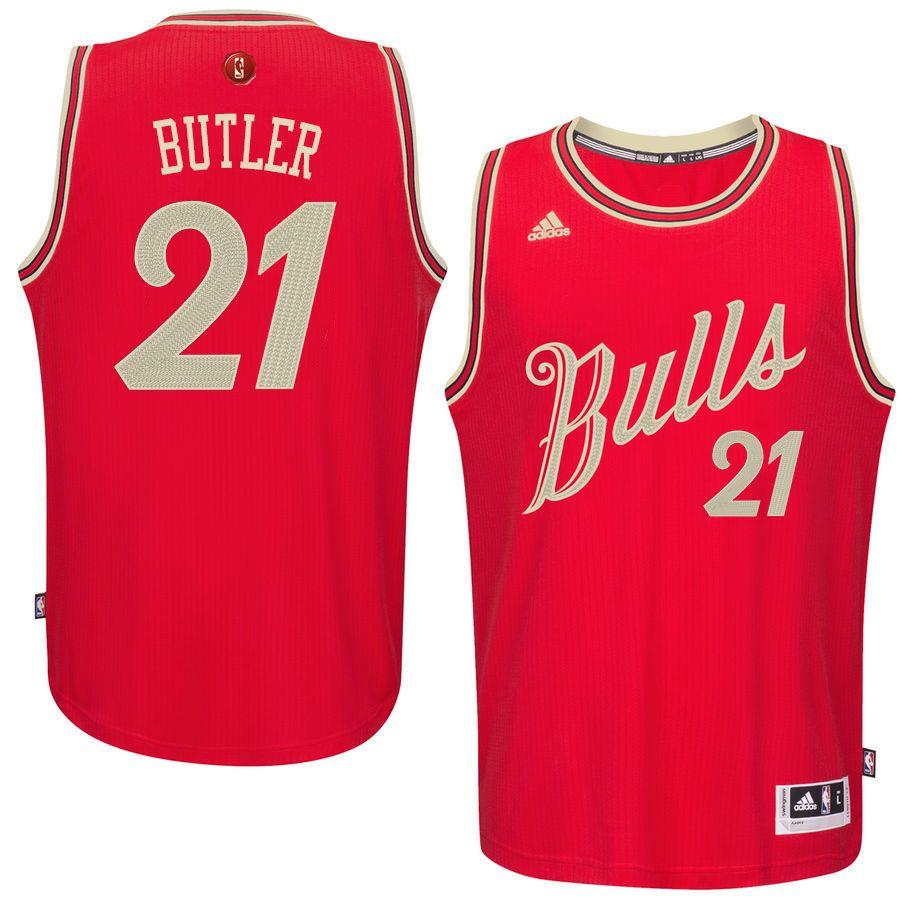 Chicago Bulls Jimmy Butler Christmas 2015 Throwback Nba Jerseys Jersey Nba Jersey
