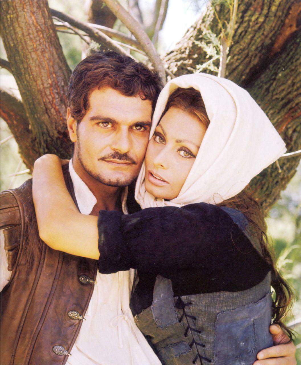 Omar Sharif Young | Omar Sharif and Sophia Loren in C'era una volta