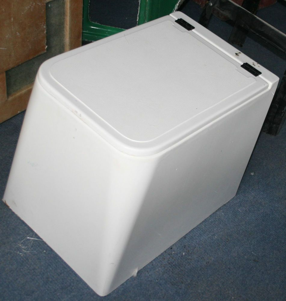 GRP Boat Bench Seat / Storage Box With Solid Base
