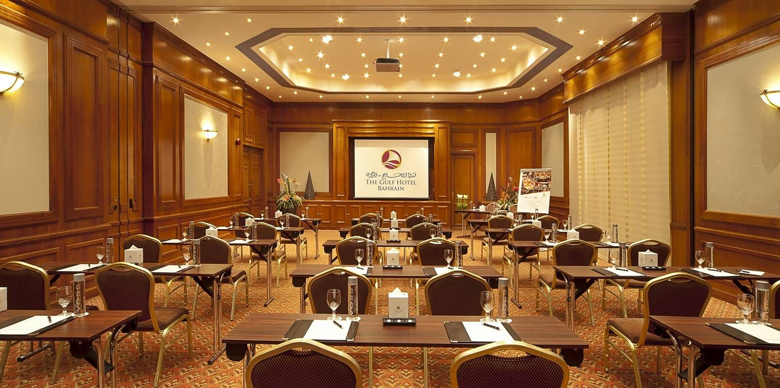 Gulf Hotel Bahrain Theater Style Meeting Room
