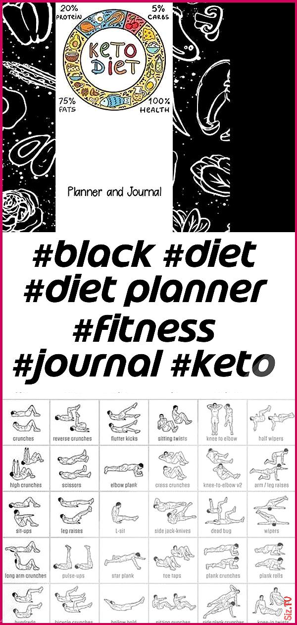 schwarze Diät Diät Planer Fitness Journal Keto Verlust schwarze Diät Fitness Journal Keto Verlust...