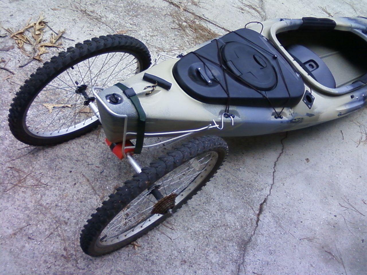 My Homemade Yak Cart Kayak Cart Kayak Accessories Kayak Boats