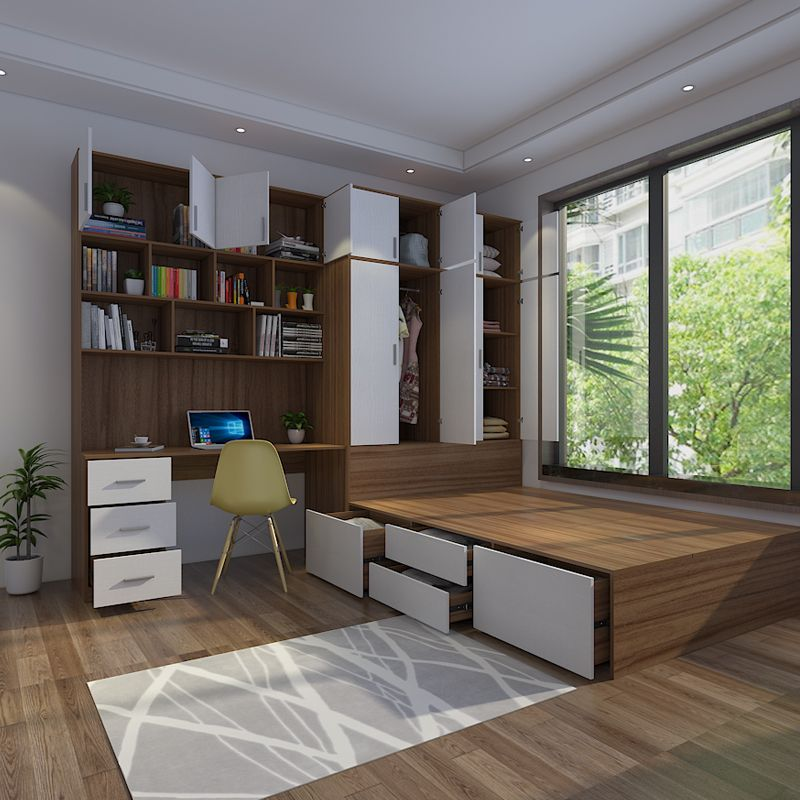 Best Modern Minimalist Multifunctional Tatami High Box Storage 400 x 300
