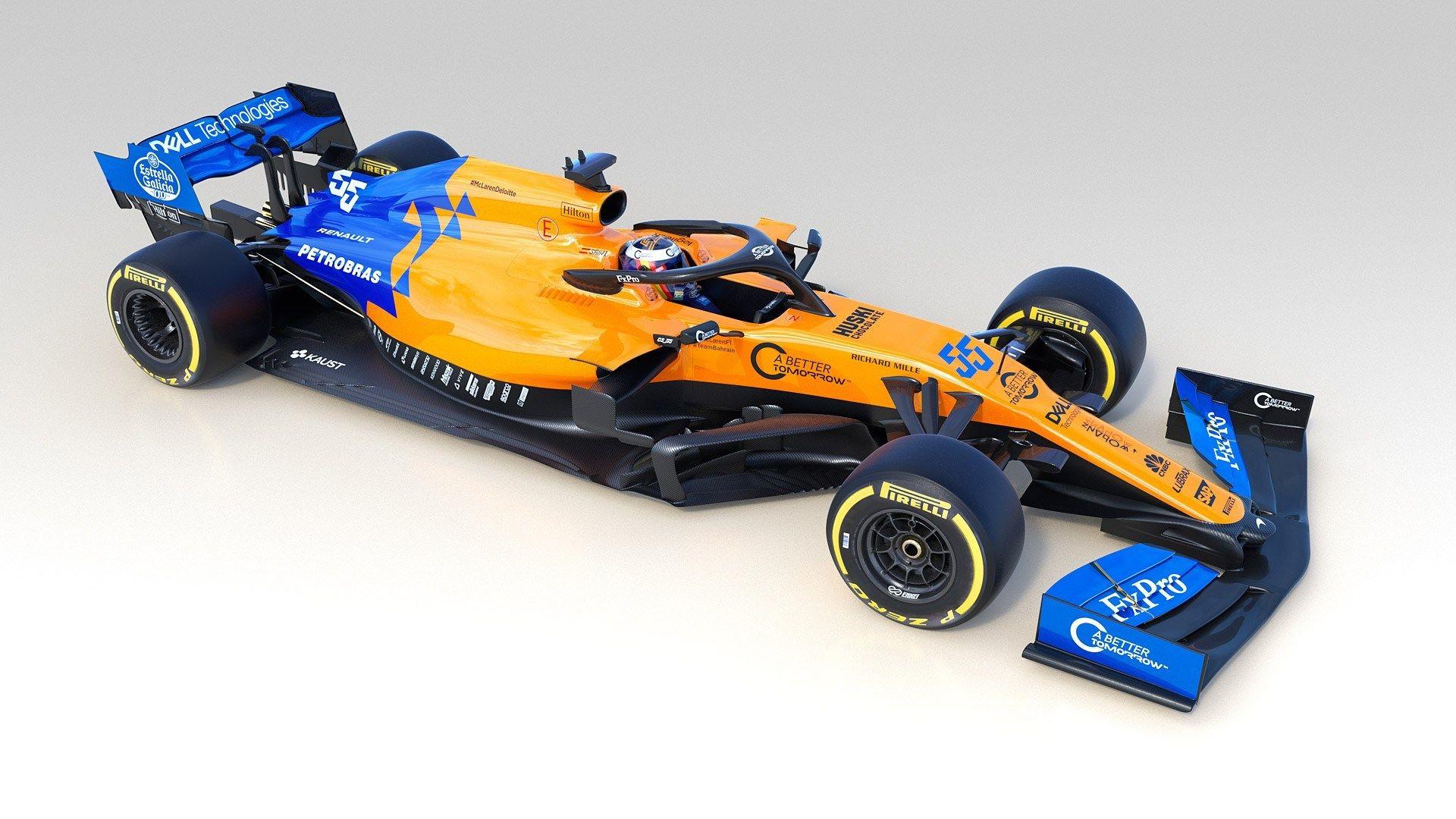 McLaren MCL34 F1 2019 évoque les Renault de l'ère