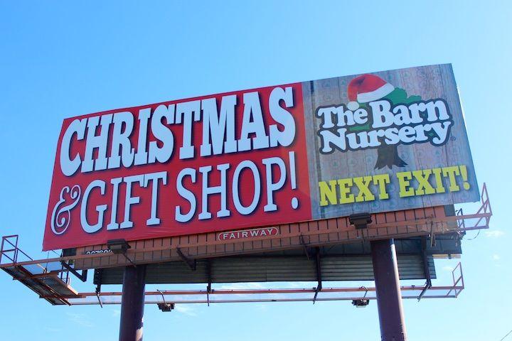 Christmas decor, The Barn Nursery, Chattanooga, TN 112414 ...