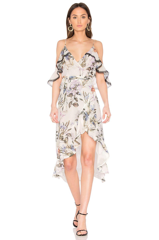 91c0d1c463bc NICHOLAS Iris Floral Wrap Dress in Iris Floral | REVOLVE | Z old W ...