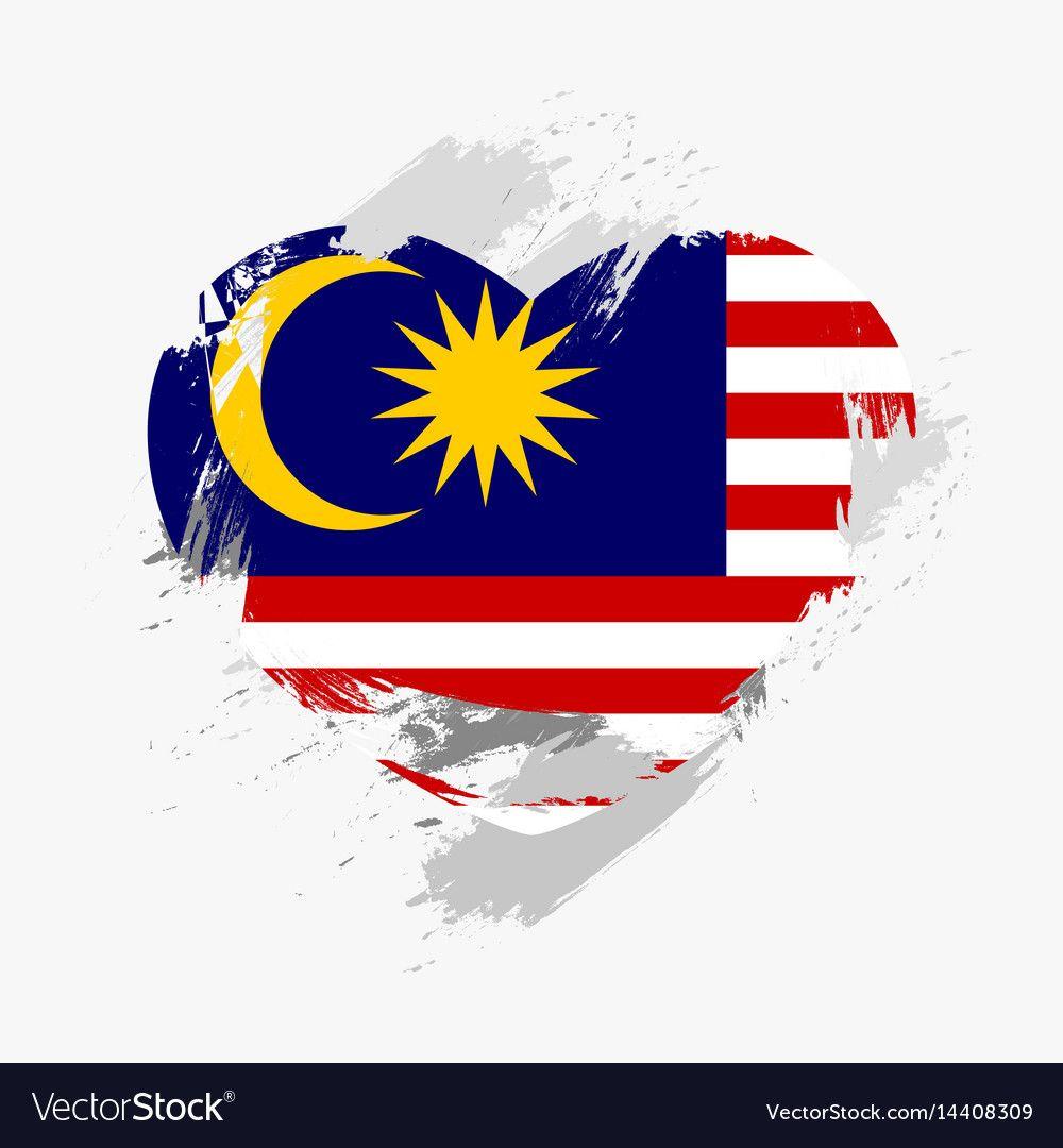 Flag Of Malaysia Vector Image On Malaysia Flag Malaysian Flag